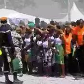 Gigantesque meeting de clôture: le candidat Jean Louis Billon crée un grave embouteillage à Dabakala