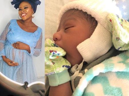 Actress Waliyat Akinnimi welcomes baby