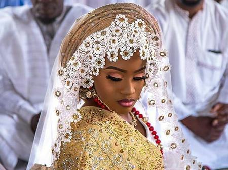Hausa Brides Are Beautiful, Check Out Elegant And Stylish Hausa Bride's Attires
