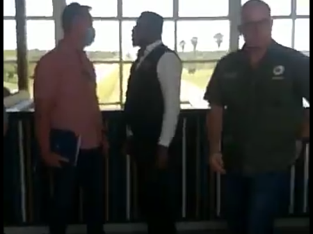 Angry EFFSC Mpho Morolane Swears At A Restaurant Owner, Orders Him To Pay His Workers