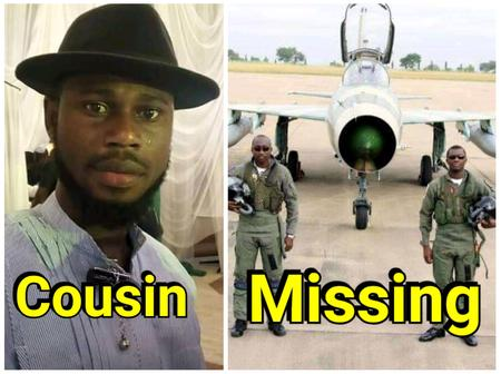 Hours After The Missing Pilots Were Identified, Read What A Cousin Of One of Them Told Nigerians To Do (Photos)