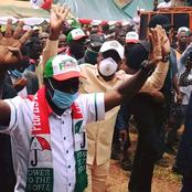 JUST IN:Governor Godwin Obaseki JUST IN:Governor Godwin O, aseki  Takes campaign to lampese,Edo north [photos].