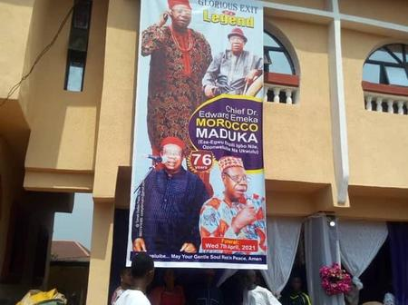Photos As Igbo, Music Legend, Morocco Maduka Laid To Rest In His Hometown, Ukwulu
