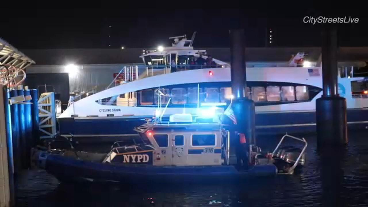 NYC ferry involved in mishap at Pier 6 at Brooklyn Bridge Park: Officials