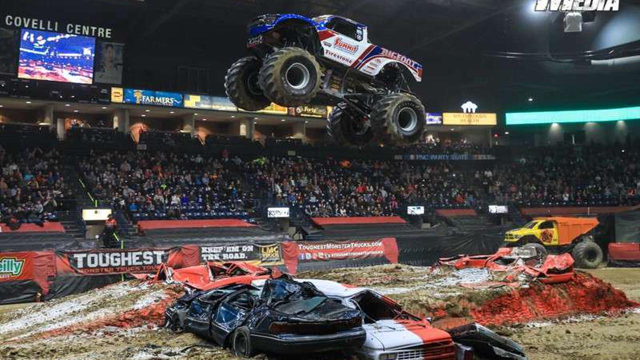 Monster trucks are coming to Salina; which one will be the toughest?