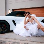 After the court denied her millions from Black Coffee, Enhle comes back with a Porsche and rocked.