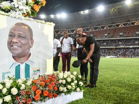 C'était le parrain de la culture : en Côte d'Ivoire, l'hommage des artistes à Hamed Bakayoko