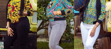 Most fashionable Ankara jacket styles for swag ladies.