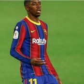 Grace  Finds Ousmane Dembélé In Barça.