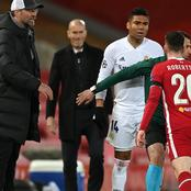As Casemiro and Robertson fought today, See what Zidane was seen doing