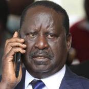 Uhuru's Night Action That Made Raila To Miss Kamukunji Meeting