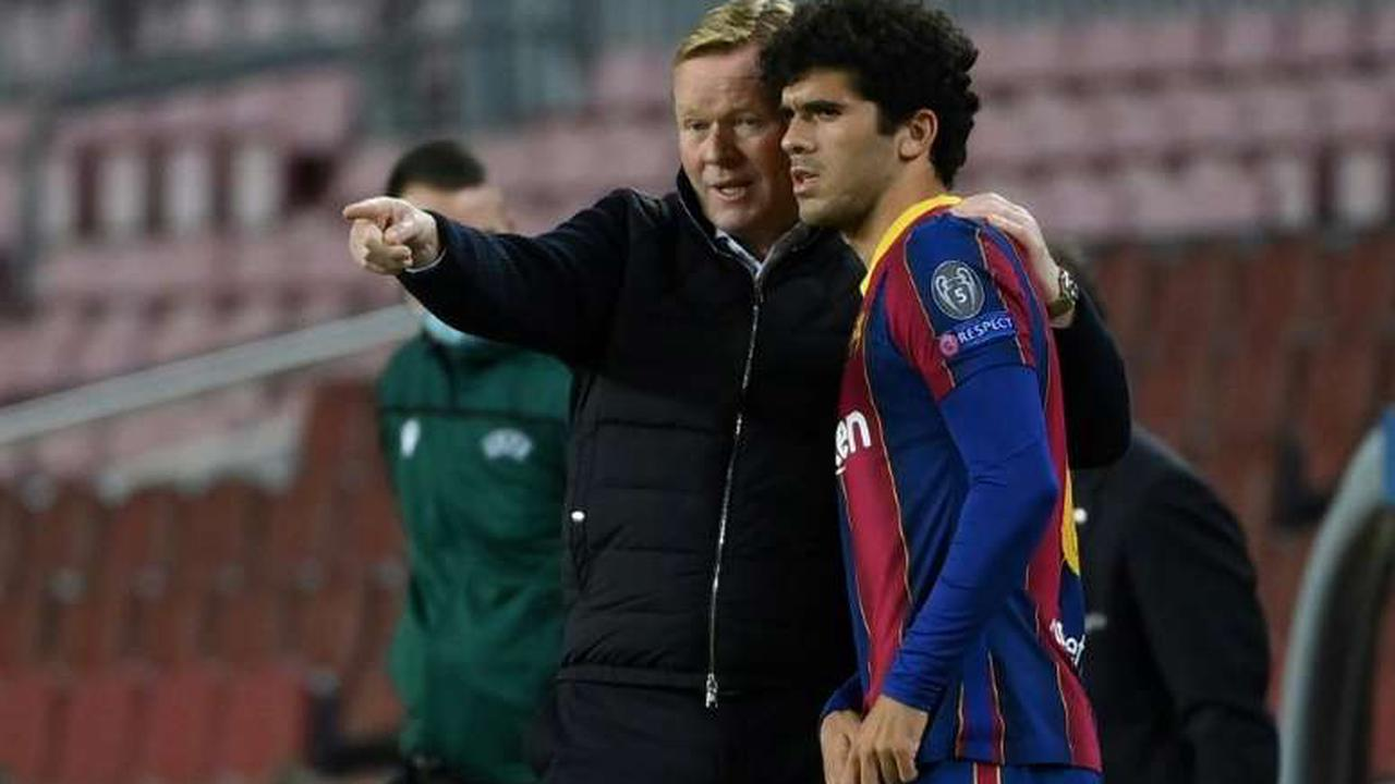 Barca youngster Alena joins Getafe on loan