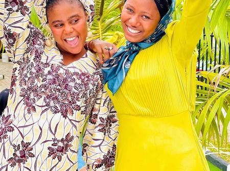 Check Out Lovely Pictures of Momee Gombe and Aisha Najamu