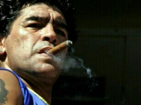 The other side of Diego Maradona you don't know, a socialist and a hater of the United States.