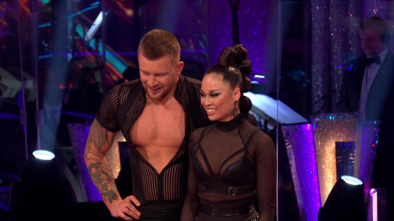 Strictly's Adam Peaty sends pulses racing as Katya Jones SLIPS