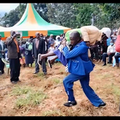 Embarambamba Carelessly Carries A Grandmother Running With Her During his Performance (Photo)