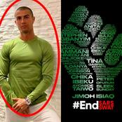 EndSARS: While Other Players Were Sympathizing With Nigeria Online, See What Ronaldo Was Busy Doing.