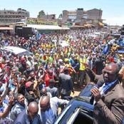 Ruto Finally Names His Biggest 2022 Rival, Calls The Rest Opportunists