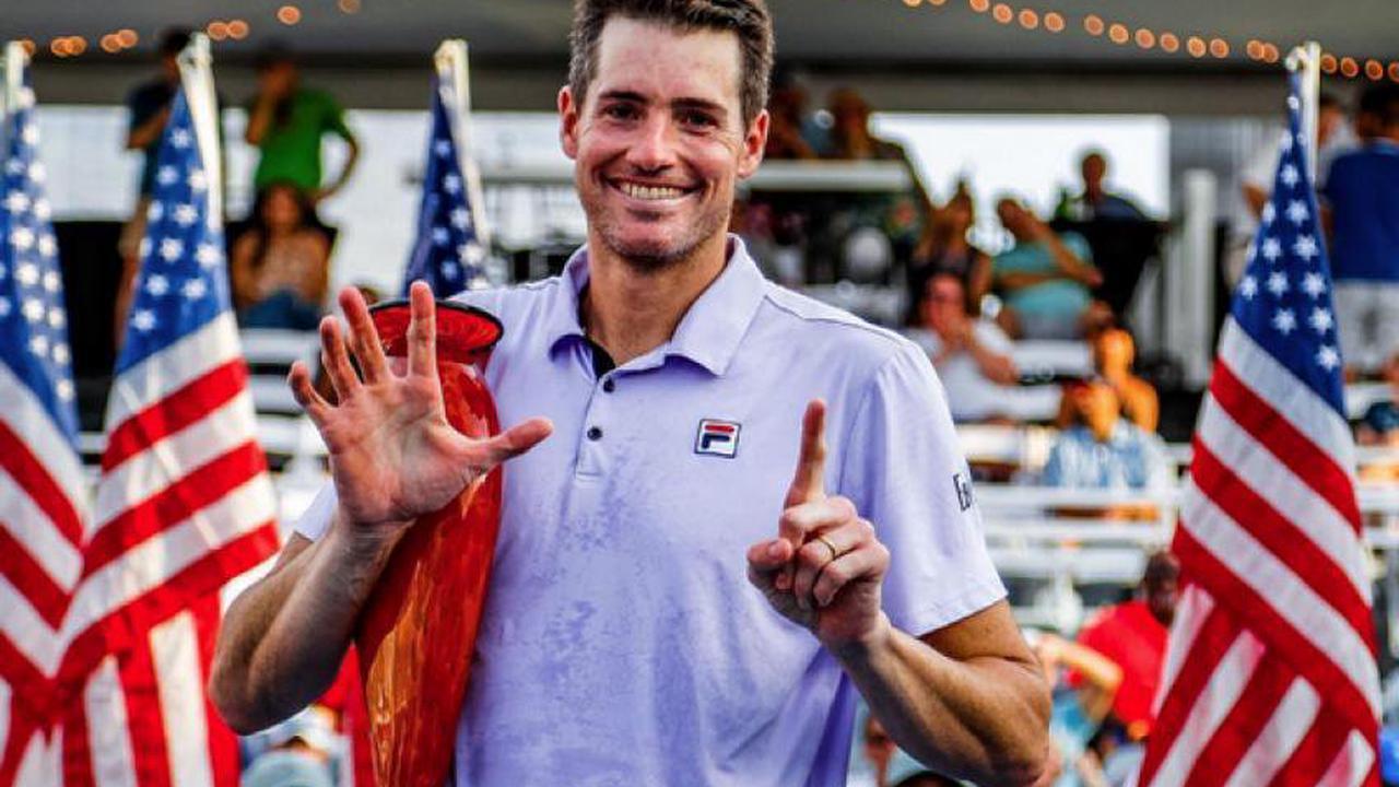 ATP Atlanta: John Isner gewinnt sechsten Titel über Brandon Nakashima