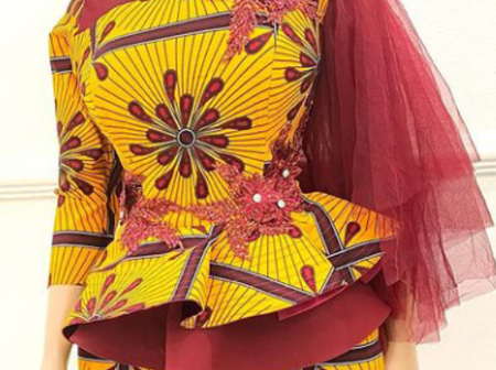 A Day To Easter, Check Out These Latest Ankara Blouse Styles for Fashionistas