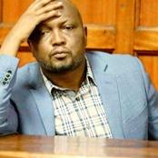 MP Moses Kuria Arrested And Detained At Karuri Police Station For Commiting The Following Offense