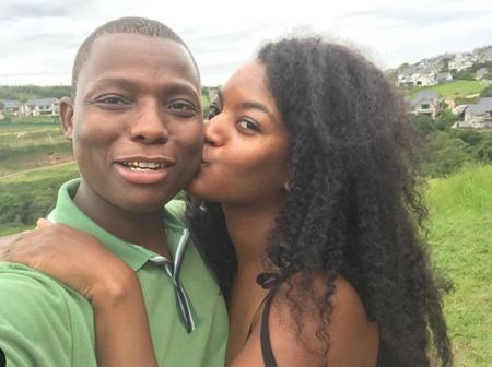Zulu boy and girlfriend celebrating four years anniversary (see pictures)