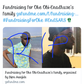 'What About Others Killed In This Crisis' Angry Reactions As People Raise Funds For Oke's Family.