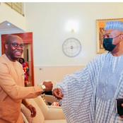 PDP Reconciliation : Bukola Saraki Had A Meeting With Fayose And Makinde (Pictures)