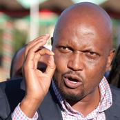 Moses Kuria Claim GEMA Community Consider Voting for an Outsider
