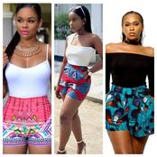 Splendid Ankara Shorts For Hot Ladies