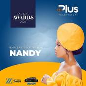 Nandy The African Princess Wins An Award As The Best Female Artist In Tanzania