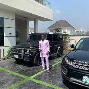 Super Eagles star, Ogeni Onazi flaunts his luxury rides.