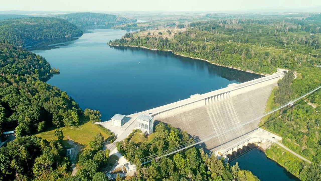 Genug Trinkwasser: Lage in den Harzer Talsperren entspannt