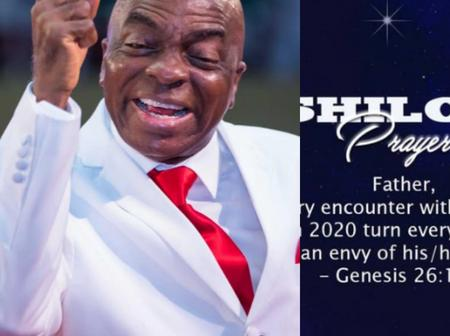 Will You Be Attending Shiloh 2020? See The Prayer Point Oyedepo Made For Potential Participants.