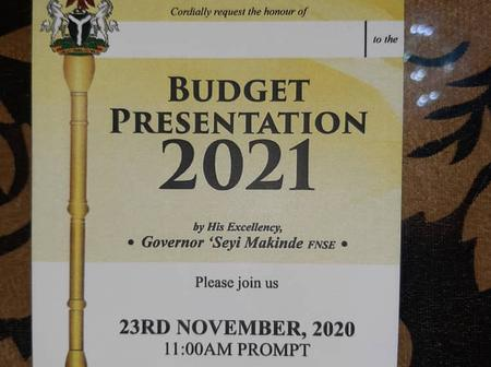 Governor Makinde to Present 2021 Budget to Oyo Assembly on Monday