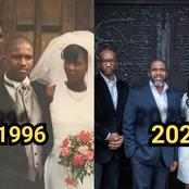 Man Celebrates Remarriage To Wife After 10 Years Of Separation