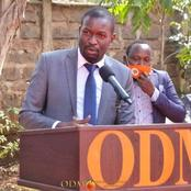 ODM SG Edwin Sifuna Reacts to Matungu Loss Reveals What They Achieved