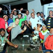 Senator Kihika and Murkomen Lead Early Celebration Ahead of London Ward Results Announcement(Photos)