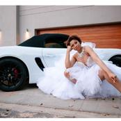 Black Coffee's ex-wife Enhle Mbali left fans in frenzy with a new expensive car she bought.