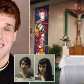 The Story Of A Priest Who Was Caught Filming Himself Having Threesome On Church Altar.