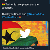 Nigeria Losing Its Glory As Twitter Announces Ghana As Operational Headquarters, See Reaction Online