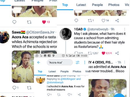 Accra Academy And Achimota SHS Is Trending On The Internet See Why