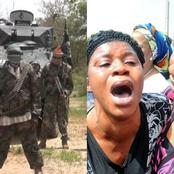 After Boko Haram Terrorists Overpowered Soldiers In Borno, See What They Did To The People There