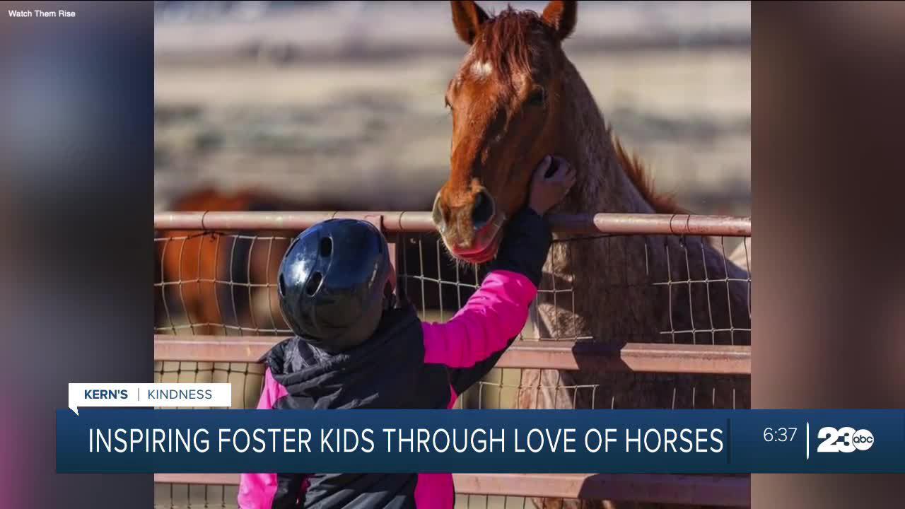 Tehachapi nonprofit inspires foster children through equine mentorship
