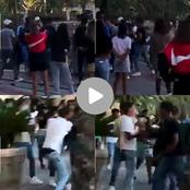 Watch: Mzansi is breathing fire after seeing a group of boys attacking their fellow schoolmate.