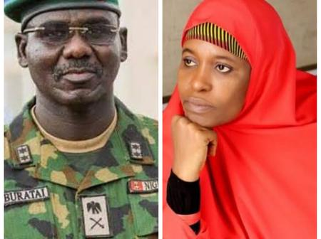 'Where is Buratai and the anger he expressed during #EndSars protest' - Aisha laments