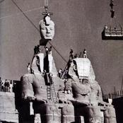 بالصور.. كيف تم تقطيع تماثيل معبد أبو سمبل العملاقة ونقلها .. و ما أسباب ذلك ؟
