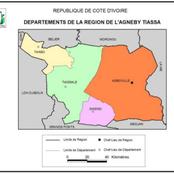 Agneby-Tiassa, Législatives 2021/ Les localités où le Rhdp et l'opposition sont au coude à coude