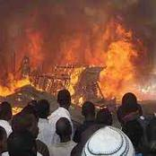 Fire Razes Sabo Market in Oyo, Destroys Goods Worth Millions Of Naira