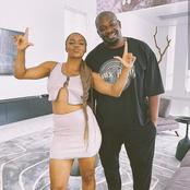 Davido And Other Fans React As Don Jazzy And DMW First Lady Were Spotted Together
